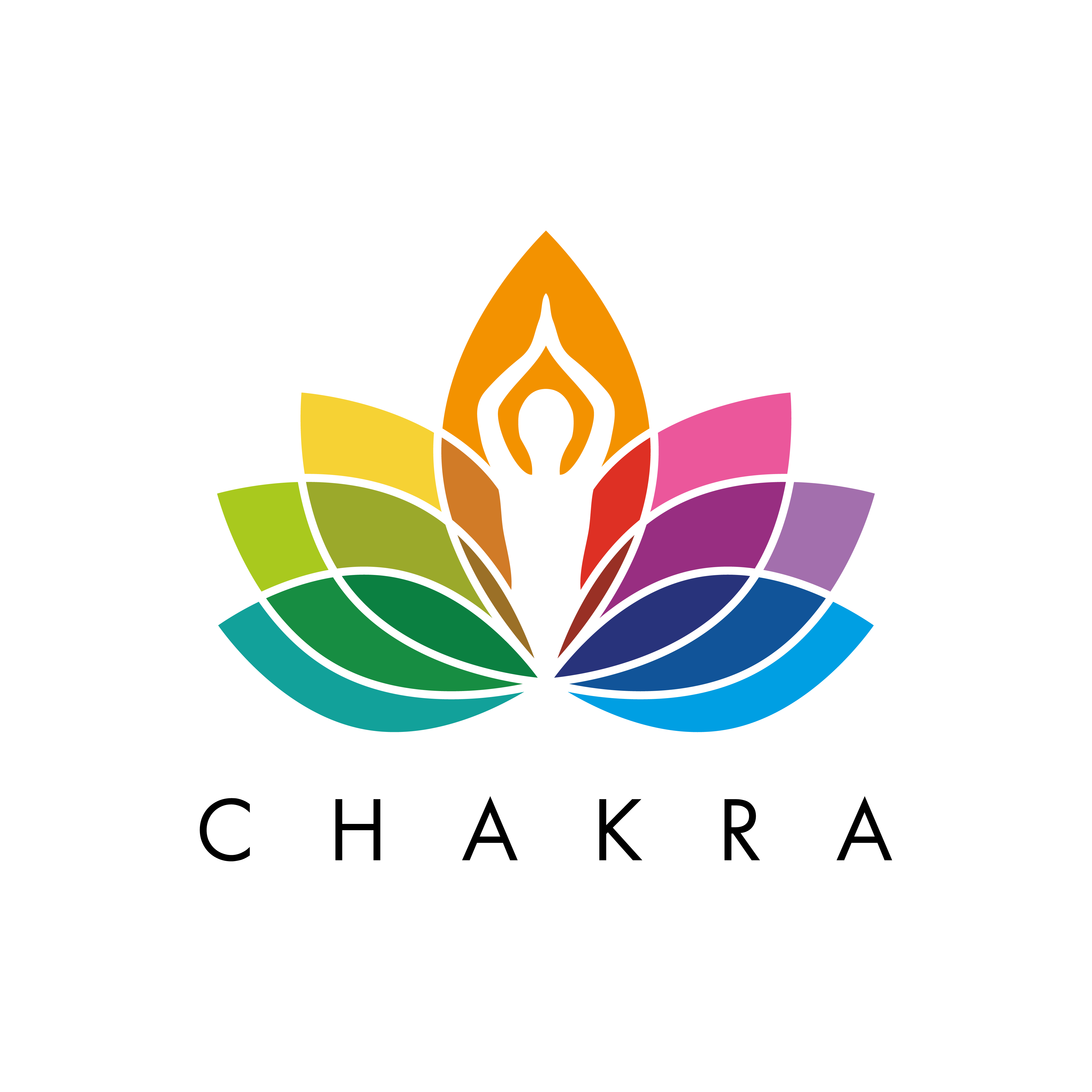 Colorful logo for our Tech Team, Chakra