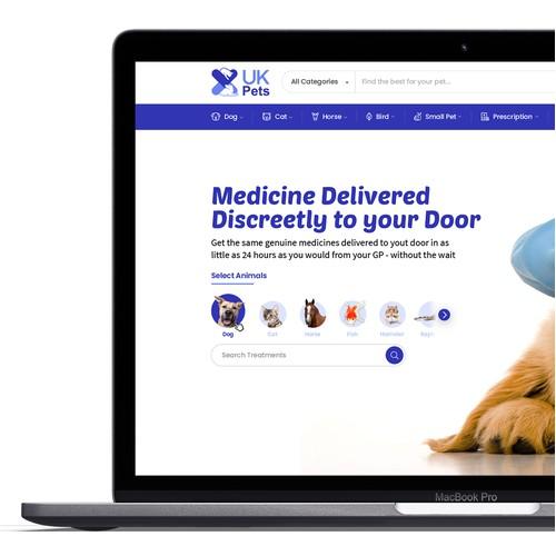 Online Pets Drug website