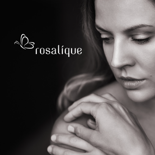 High end sophisticated logo and website for a cosmetic product.