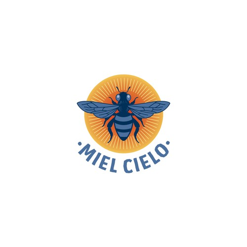 Honey Logo for Miel Cielo