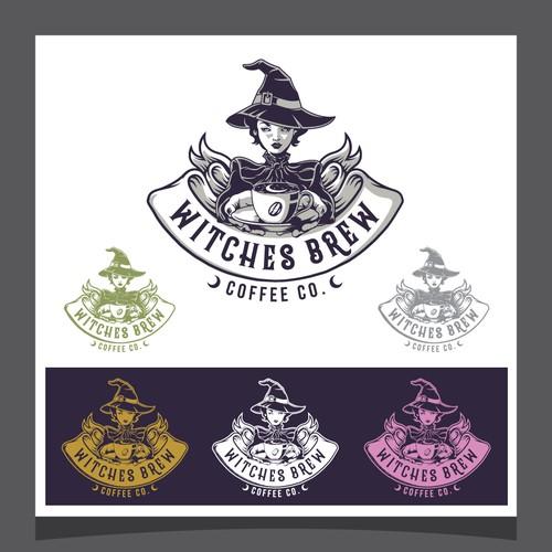 Witches Brew Logo Design