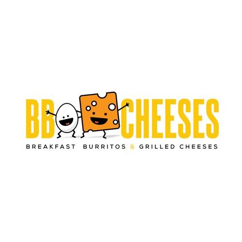 Fun cartoon-y logo for a fun restaurant
