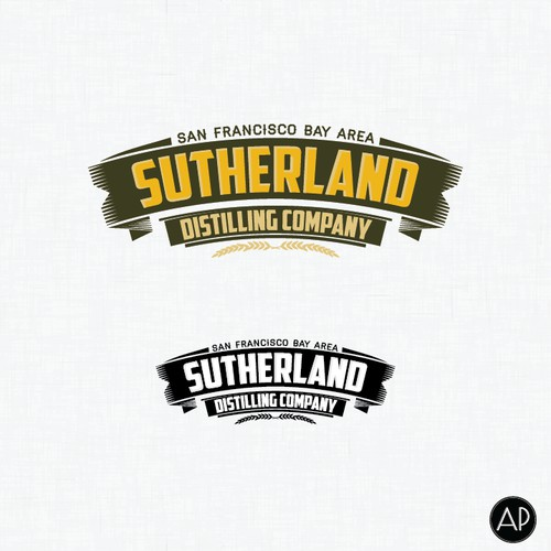 Create the next logo for Sutherland Distilling Company