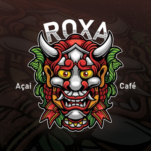 Character logo for Roxa