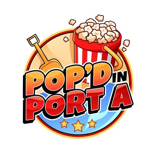 Logo design for Pop'd in Port A