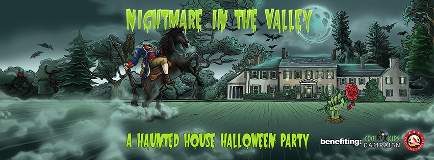 Nightmare in the Valley - A haunted House Haloween Charity Party