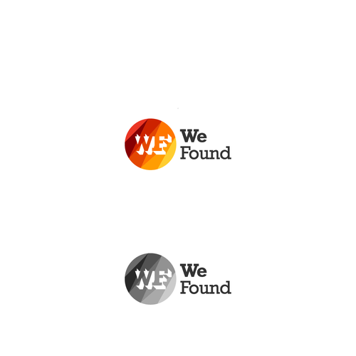 creative logo for we found