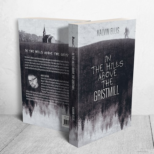 "Cover for ""In the Hills Above the Gristmill"" by  Kalvin Ellis"