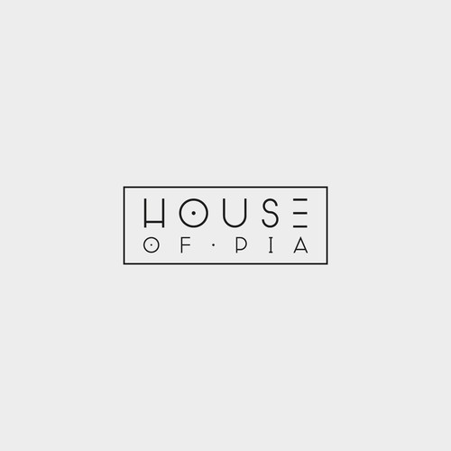 Trendy logo for House of Pia