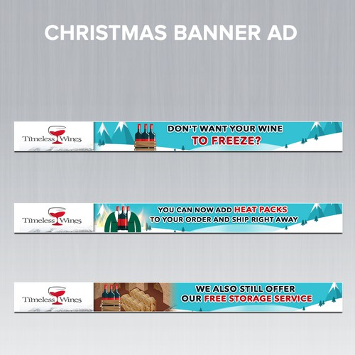 CHRISTMAS ANIMATED BANNER AD