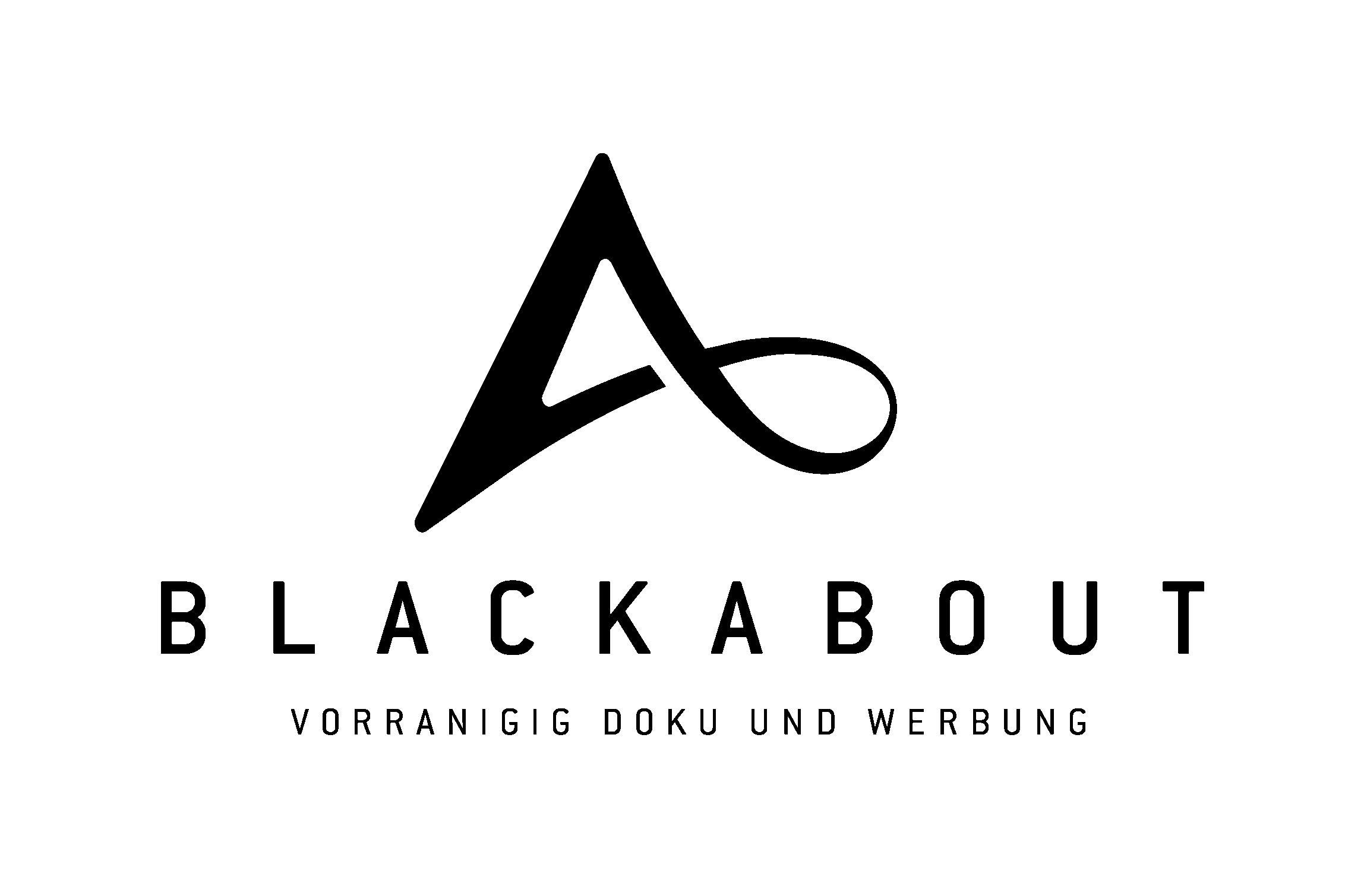 blackabout - Videoproduktion braucht ein Logo!