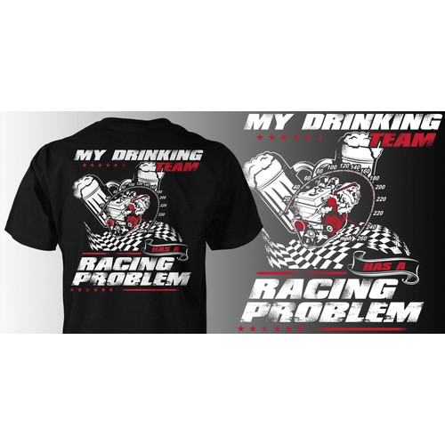 Create awesome Racing Shirt! Guaranteed Winner!