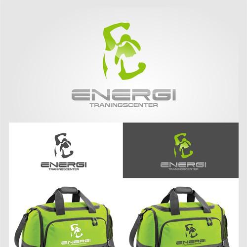 Modern fitness logo for expansive gymbusiness