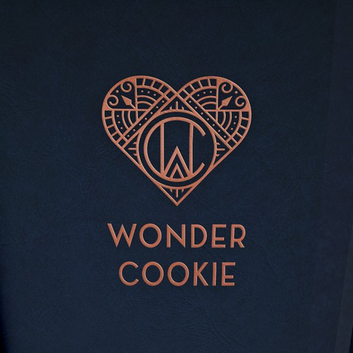 Stylish logo for gift cookies brand