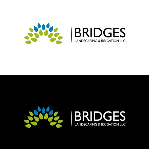 logo for Bridges Landscaping and Irrigation LLC