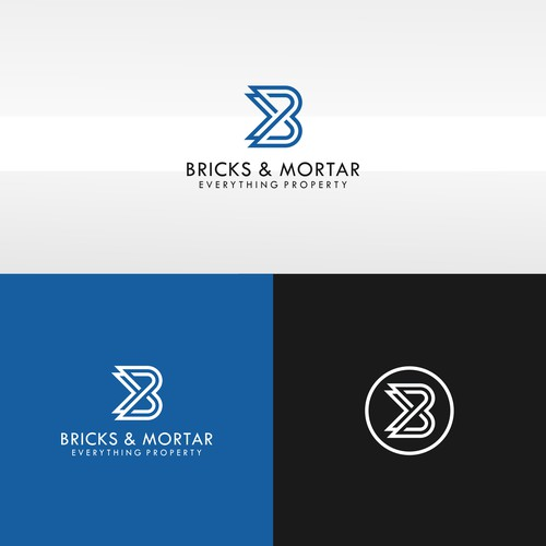logo concept for bricks & mortar
