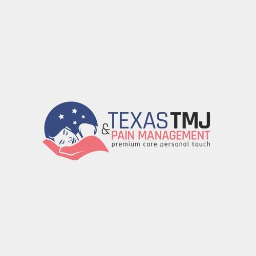 Elegant logo concept for Texas TMJ & Pain Management