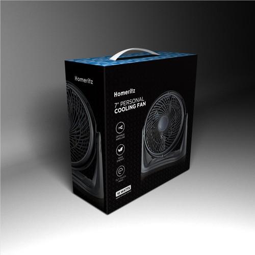 Cooling Fan Packaging design