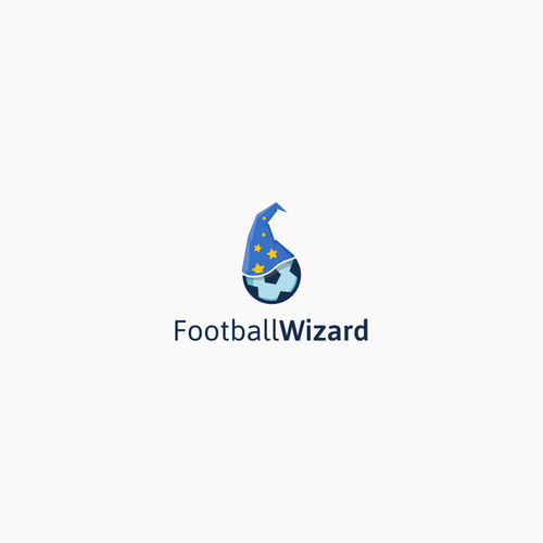 a logo for football application