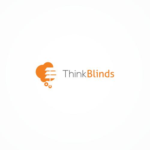 Logo Design for Think Blinds