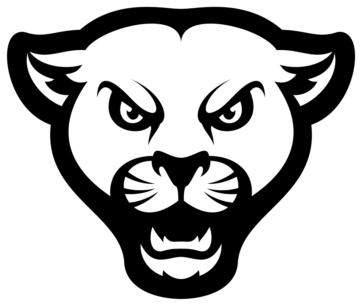 Curtis Middle School Cougars Logo