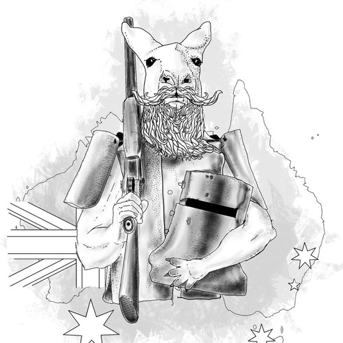 What if Ned Kelly was really a kangaroo?
