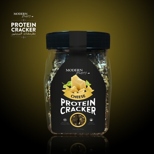 Cheese Protein Cracker