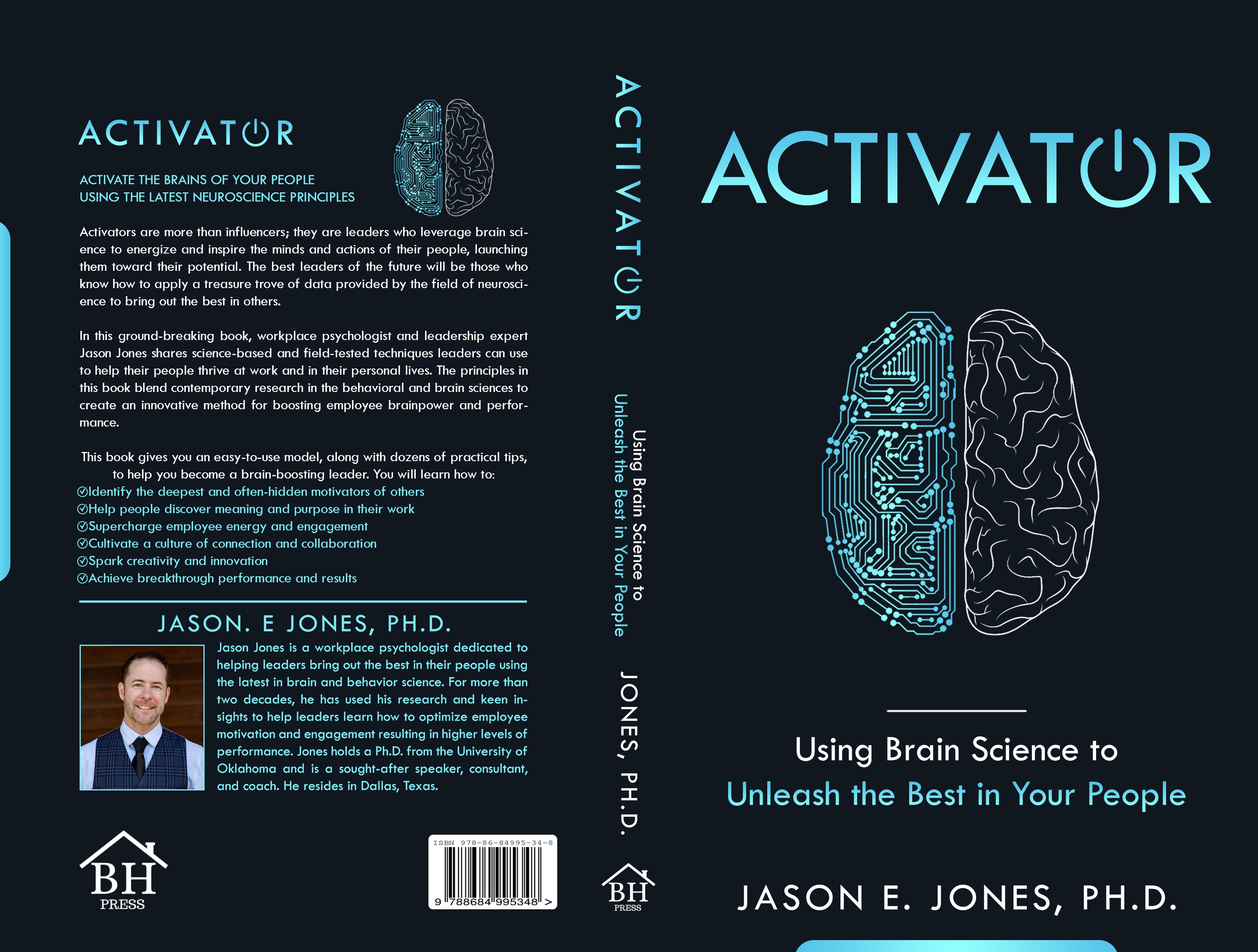Bold and Brainy Book Cover Design!