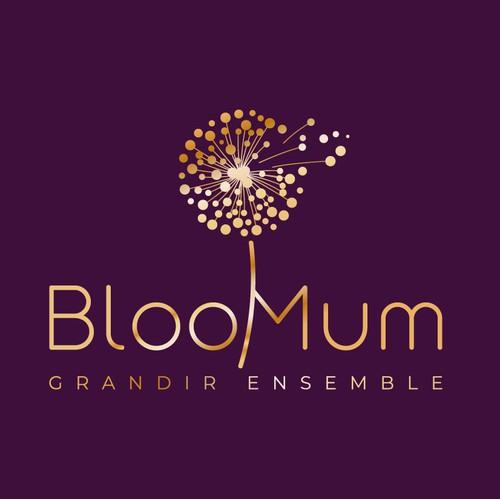 BlooMum Logo design