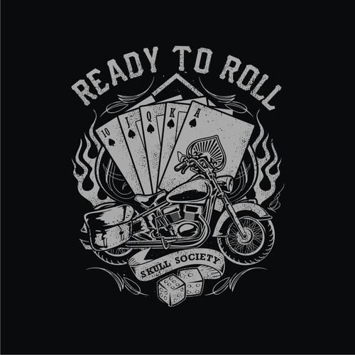 skull society Harley