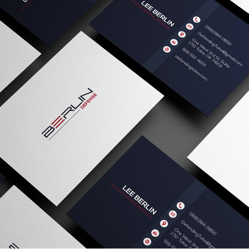 Business Card for BERLIN DEFENSE