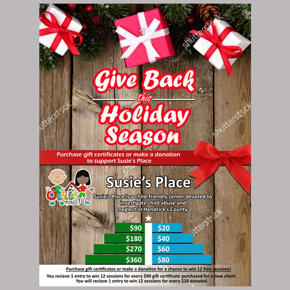 Holiday Fundraiser Poster