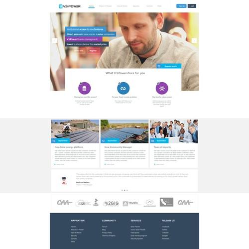 V3 Power Website