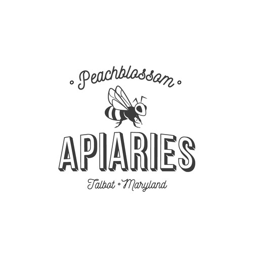 Logodesign for an upscale honey and beekeeping business needs