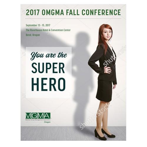 Cover-Design for OMGMA Brochure