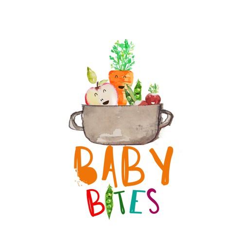 Logo Design for baby food