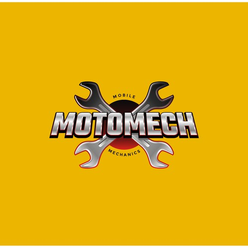 3D Logo for Mobile Mechanic Business