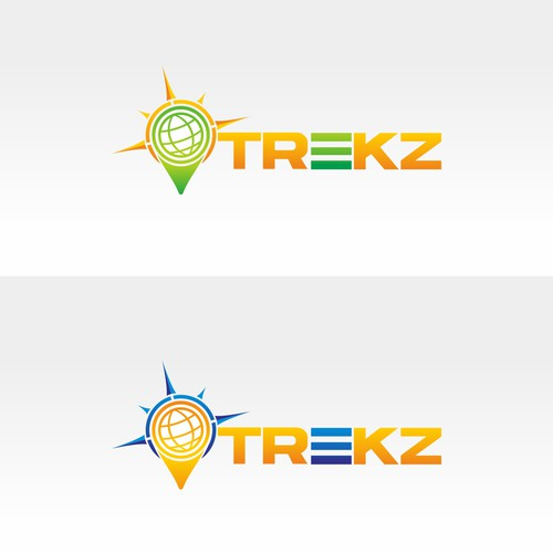 Create a winning logo for hot new tech start up TREKZ!