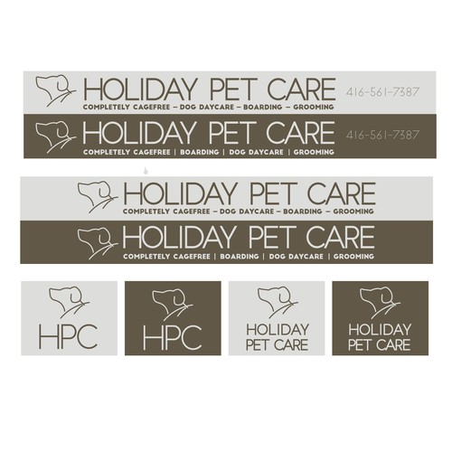 Pet Stay Sign & Logo Concept