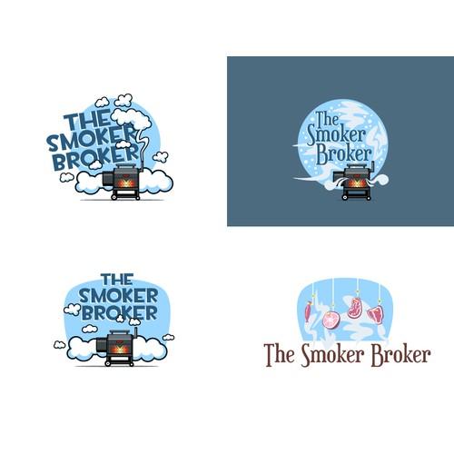 logo for The Smoker Broker
