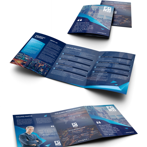 Brochure for FGRD group