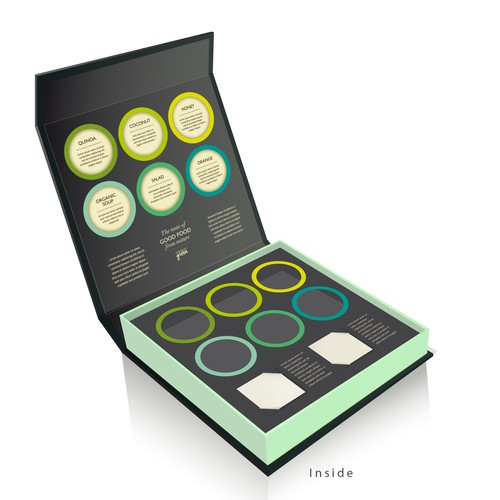 Edible lovers out there! Create an amazing packaging concept design for our sampling business