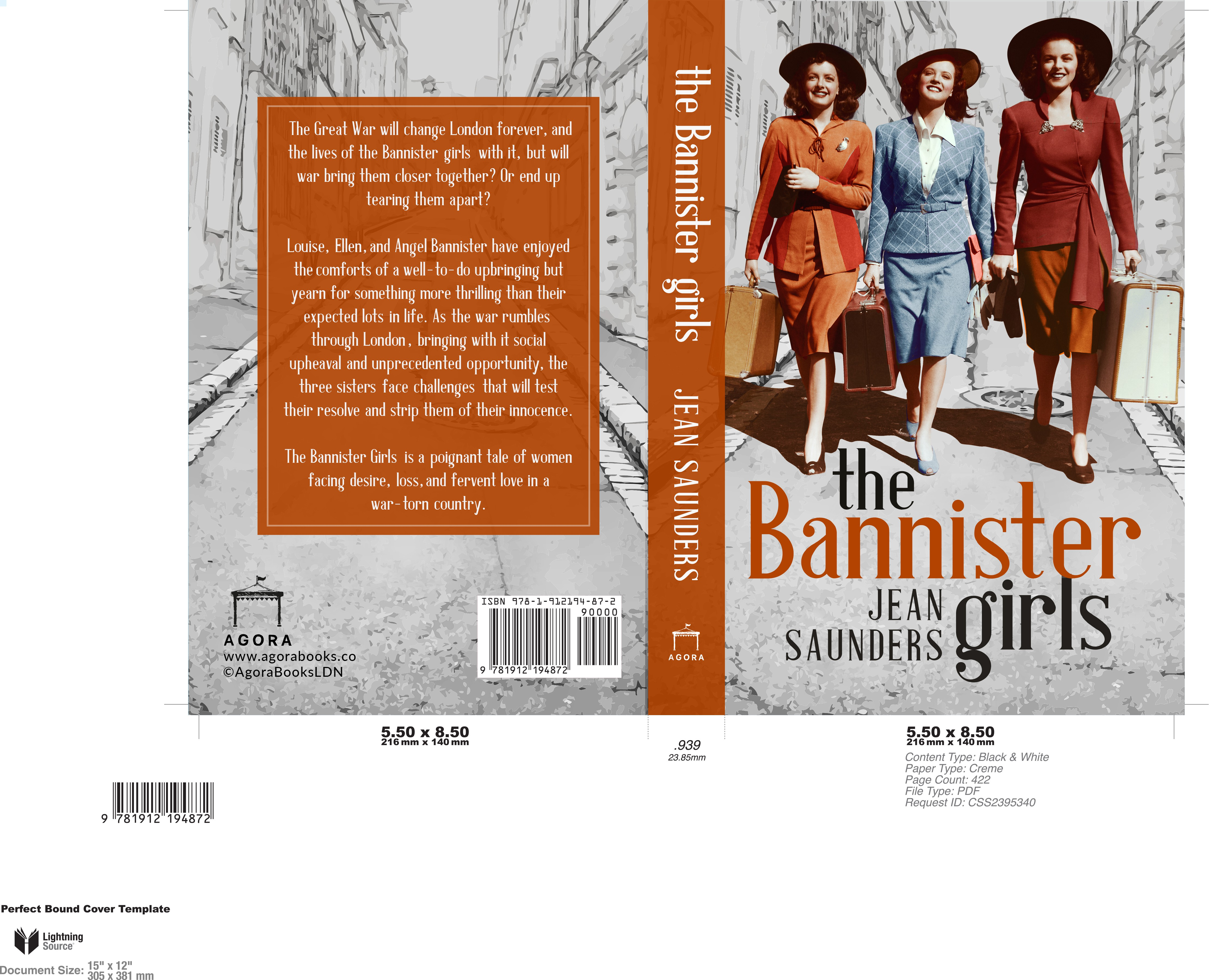 The Bannister Girls Paperback Cover