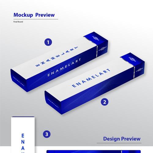 Runner Up - Packaging Design for Enamelart Tooth Paste