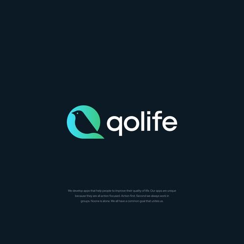 Logo concept for QOLife.com
