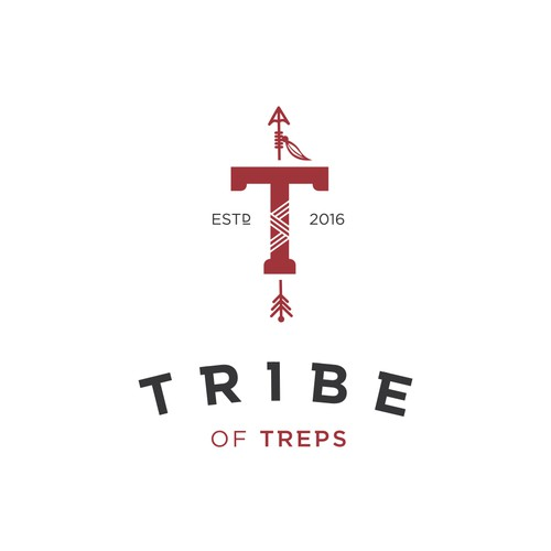 Logo concept for Tribe of Treps