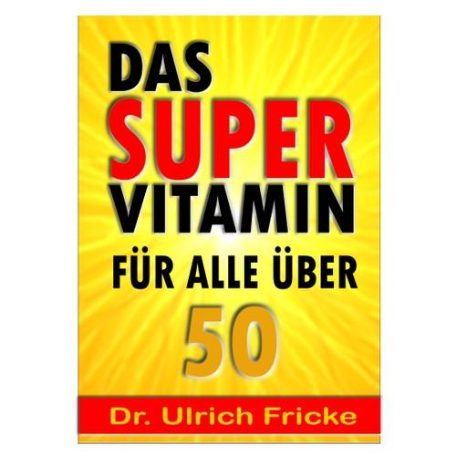 Knalliges Cover für Vitamin-Ratgeber gesucht!