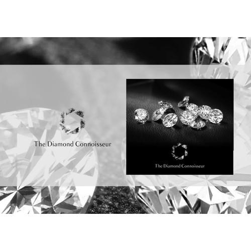Create a logo featuring a diamond for the diamond connoisseur