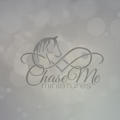 Elegant and versatile logo for a horse breeder.