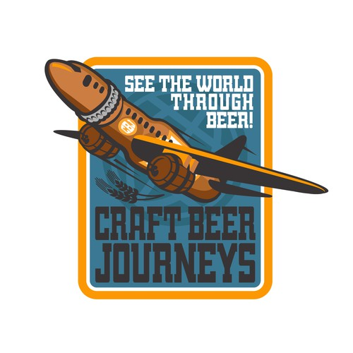 Craft beer Journey Logo Design Entry